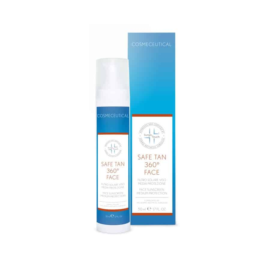 Sunscreen face cream - Safe Tan 360 Face